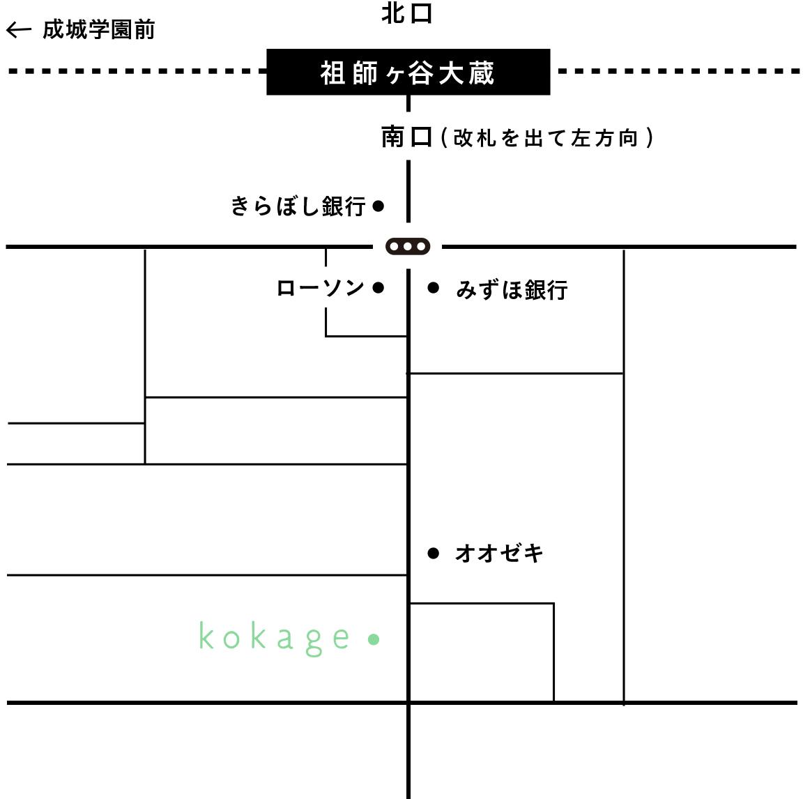 大蔵 オオゼキ 谷 祖師 ヶ